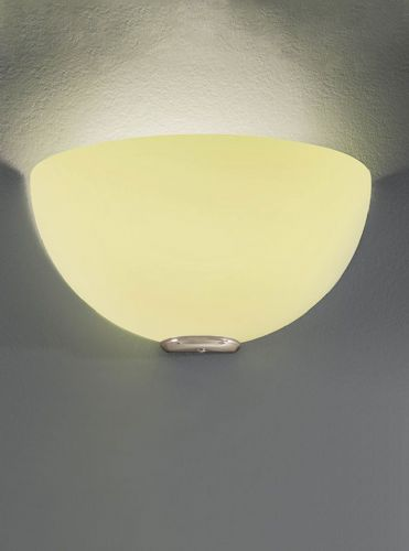 Franklite WB060/942 Satin Nickel & Lime Wall Light